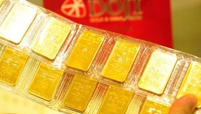 Giá vàng trong nước giảm phiên đầu tuần