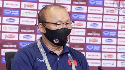 HLV Park Hang Seo: 'Đội tuyển Việt Nam chưa thể vui mừng lúc này'