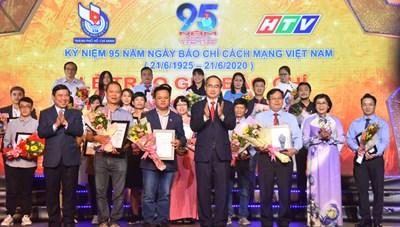Trao giải báo chí TP Hồ Chí Minh lần thứ 38