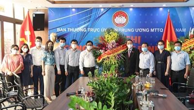 [VIDEO] Phó Chủ tịch Quốc hội Nguyễn Đức Hảithăm, chúc mừng Báo Đại Đoàn Kết