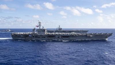 Mỹ điều tàu sân bay tới khu vực Hạm đội 7