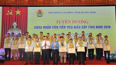 BẢN TIN MẶT TRẬN: Tuyên dương người lao động tiên tiến tỉnh Quảng Ninh
