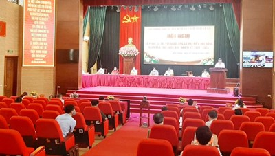 Lào Cai: Tổ chức 1.099 hội nghị tiếp xúc cử tri