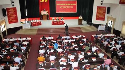 Khai mạc Kỳ họp HĐND tỉnh Quảng Nam khóa IX