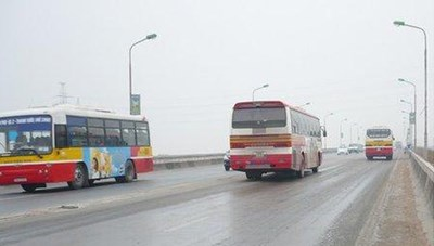 Phát sinh hơn 32 tỷ đồng chi phí xe buýt vì sửa cầu Thăng Long