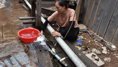 Gia Lai: Giếng nước sinh hoạt bỗng dưng bốc mùi xăng dầu