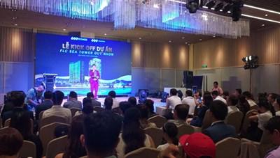 Gấp rút hoàn thiện, FLC Sea Tower Quy Nhon hút hàng trăm sale trong lễ kick off