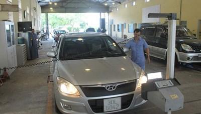 Triển khai kiểm tra trung tâm đăng kiểm xe cơ giới trên toàn quốc