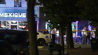 Mỹ: Xả súng bên ngoài quán ăn gần Nhà Trắng