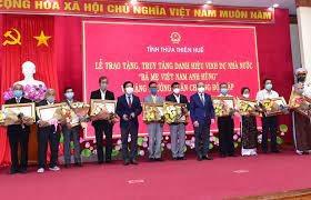 Thừa Thiên-Huế: Trao tặng, truy tặng danh hiệu Bà Mẹ Việt Nam Anh hùng