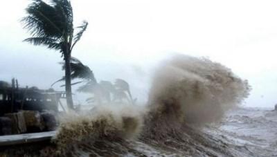 Áp thấp nhiệt đới gây mưa lớn diện rộngvùng biển Hải Phòng, Ninh Bình