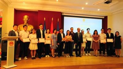 Trao giải Sinh viên xuất sắc UEVF