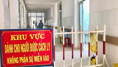 Quảng Nam đã lấy hơn 8.500 mẫu xét nghiệm Covid-19