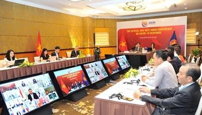 Hội nghị Bộ trưởng Kinh tế ASEAN - Nhật Bản ứng phó đại dịch Covid-19