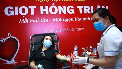 Nguồn máu dự trữ đang cạn kiệt