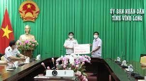 Vĩnh Long: Tiếp nhận gần 14,5 tỷ đồng ủng hộ công tác phòng chống dịch bệnh
