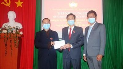 Di Linh (Lâm Đồng): Hơn 2 tỷ đồng ủng hộ công tác phòng dịch Covid-19