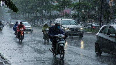 Bão số 2 có khả năng gây một đợt mưa rất lớn các tỉnh Bắc Trung bộ và Tây Nguyên