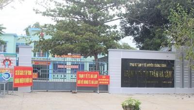 Quảng Nam: Tìm người đi cùng chuyến xe buýt với bệnh nhân 564