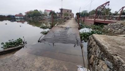Ninh Bình: Hàng loạt cầu xuống cấp nghiêm trọng
