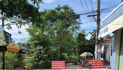 Quảng Nam: Phong tỏa tổ dân cư nơi bệnh nhân 672 sinh sống