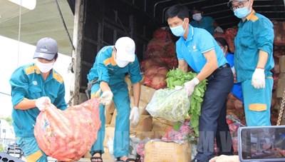 Hòa Bình: Kêu gọi ủng hộ hàng hóa, nhu yếu phẩm hỗ trợ TP HCM chống dịch