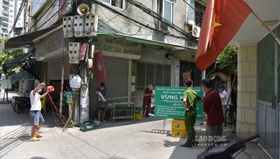Đà Nẵng: Thiết lập các chốt nhỏ trong khu dân cư