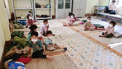 Hỗ trợ trẻ em chịu ảnh hưởng trực tiếp bởi Covid-19