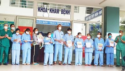 Bệnh nhi Covid-19 8 tháng tuổi tại Đà Nẵng đã được xuất viện