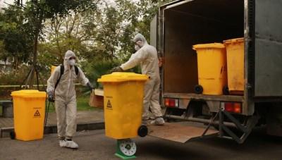 Rác thải y tế tại khu cách ly: Tuyệt đối không để mầm bệnh ra môi trường