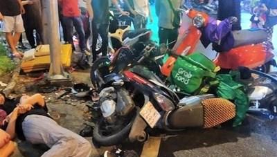 Vụ xe Camry gây tai nạn liên hoàn tại TP HCM: Sức khỏe các nạn nhân đã ổn định