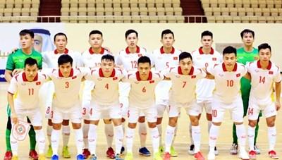 Đội tuyển futsal xác định lộ trình ở vòng chung kết futsal World Cup 2021