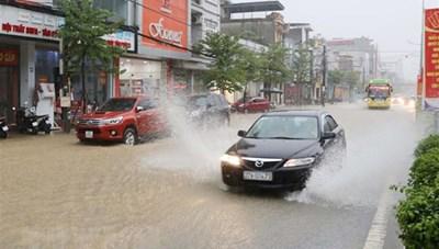 Bắc Bộ ứng phó mưa lớn, đề phòng lũ quét, sạt lở đất