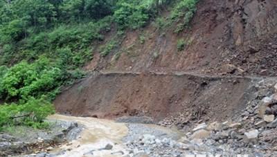 Mưa lớn tại tỉnh Sơn La, cháu bé 10 tuổi bị nước cuốn trôi