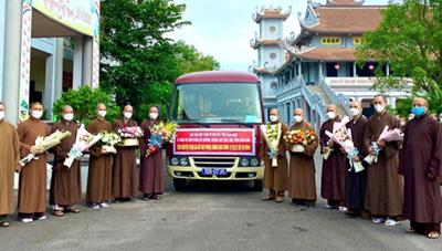 BẢN TIN MẶT TRẬN: Giáo hội Phật giáo Việt Nam điều phối Tăng, Ni trẻ tham gia chống dịch