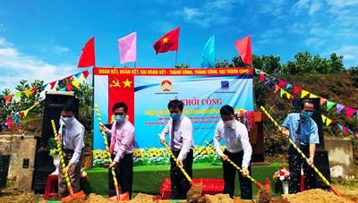 Quảng Ngãi: Xây dựng 145 nhà Đại đoàn kết cho hộ nghèo