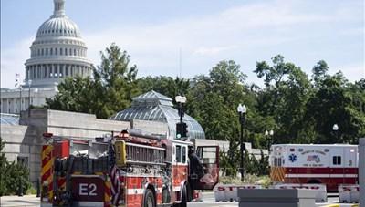 Mỹ: Sơ tán tòa nhà văn phòng Quốc hội vì bị đe dọa đánh bom