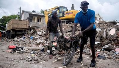 Haiti điêu đứng sau thảm họa động đất