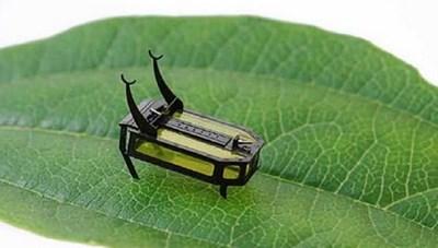 Chế tạo robot siêu nhỏ sử dụng nhiên liệu lỏng, chỉ nặng 88 mg