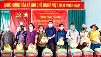 Đắk Lắk: Khánh thành hệ thống lọc nước sạch cho đồng bào DTTS