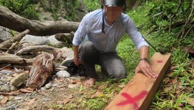 Trích xuất camera phát hiện 6 đối tượng phá rừng