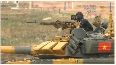[VIDEO] Màn trình diễn của đội xe tăng Việt Nam trong ngày ra quân Army Games 2020