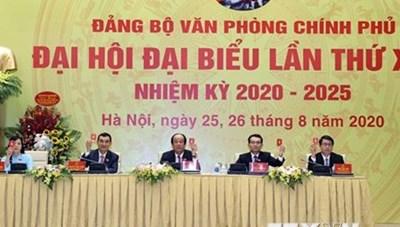 VPCP đóng góp hoàn thiện dự thảo văn kiện Đại hội Đảng