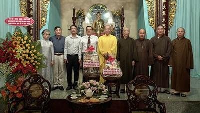 Bình Thuận: Thăm Ban Trị sự Phật giáo tỉnh nhân dịp Đại lễ Vu lan 2020