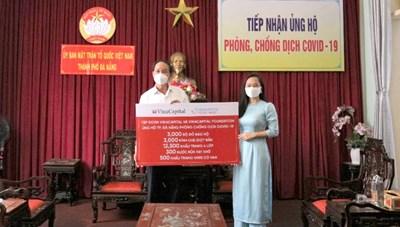 BẢN TIN MẶT TRẬN: TP Đà Nẵng tiếp nhận ủng hộ phòng, chống dịch Covid-19