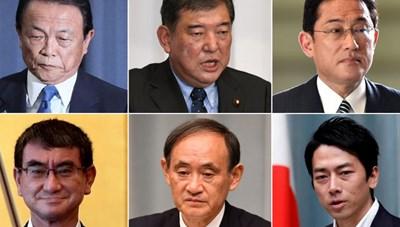 Những gương mặt sáng giá có thể kế nhiệm Thủ tướng Nhật Bản Shinzo Abe
