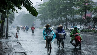 Nam Trung Bộ, Tây Nguyên và Nam Bộ mưa to kéo dài đến ngày 3/9