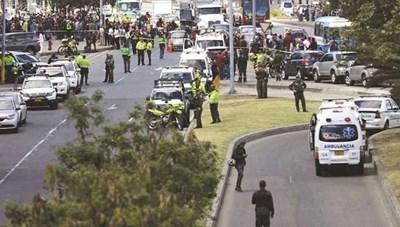 Colombia: Đánh bom khủng bố nhằm vào đồn cảnh sát