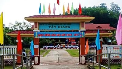 Quảng Nam: Vùng biên giới Tây Giang khai giảng năm học mới