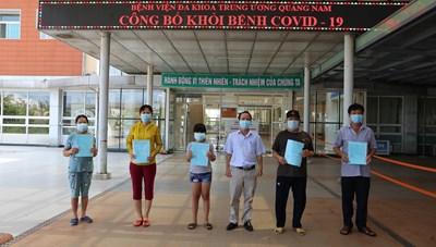 Quảng Nam đã có 48 bệnh nhân Covid-19 xuất viện